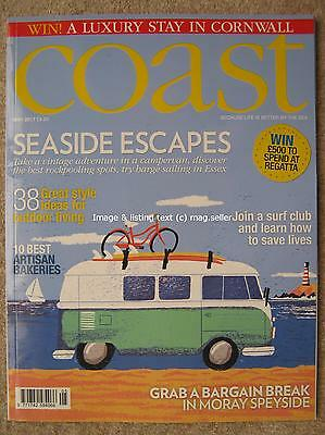 Coast May 2017 Lytham St Annes VW Camper Artisan Bakeries Moray Speyside