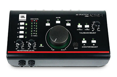 New JBL M-Patch Active-1 USB Interface Precision Studio Monitor Controller