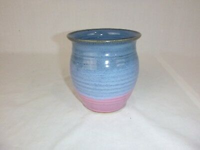 Vtg 1992 Charles Todd Wagoner Studio Art Pottery Vase Billies Creek Village