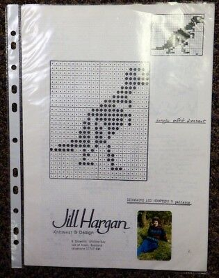 Fairisle Punch Card Patterns For Studio Knitting Machine Book