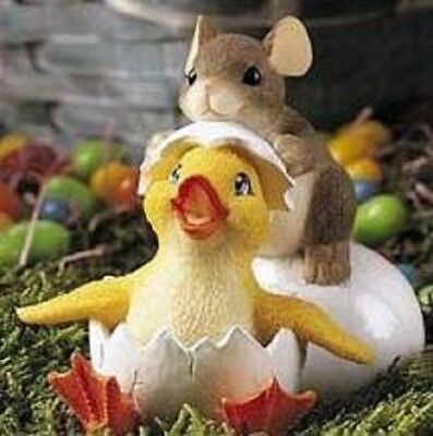 Charming Tails Figurine Ducky To Meet You 88103*RETIRED/NEW IN BOX*