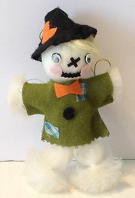 Vintage Halloween Scarecrow Ornament Decoration