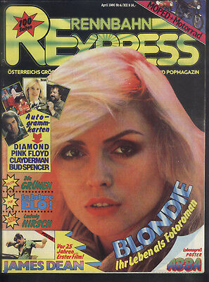 Rennbahn Express Nr.4 von 1980 Blondie, Tim Curry, Lene Lovich, Iggy Pop, E.L.O.