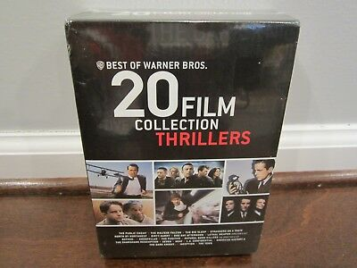 Best of Warner Bros.: 20 Film Collection - Thrillers (20 DVD Set, 2013)  SEALED