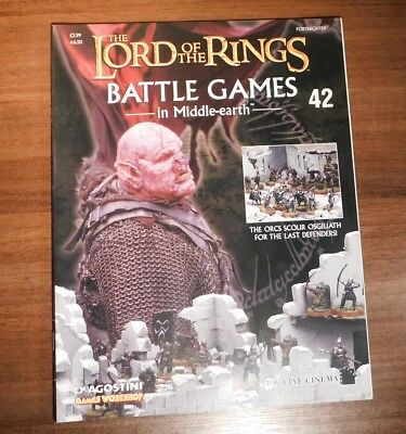 LORD OF THE RINGS Battle Games in Middle-earth Magazine Issue 42