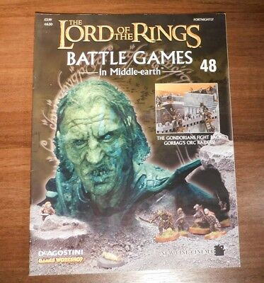 LORD OF THE RINGS Battle Games in Middle-earth Magazine Issue 48