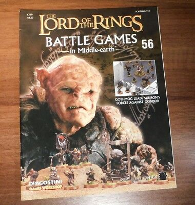 LORD OF THE RINGS Battle Games in Middle-earth Magazine Issue 56