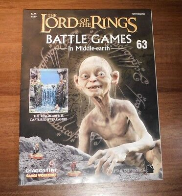 LORD OF THE RINGS Battle Games in Middle-earth Magazine Issue 63