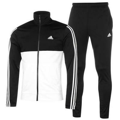 Nwt Men Adidas Bk4091 Back To The Basics Tracksuit Jacket & Pant Set Regular Fit