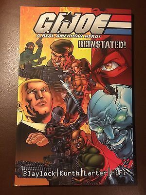 Image comics  : G I JOE : REINSTATED  Volume 1 , Softcover Graphic Novel 2002