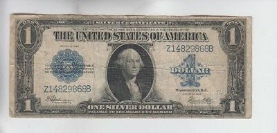 Silver Certificate $1 1923  fine very small tear