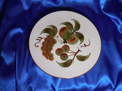 """Vintage Stangl Pottery Hand Painted Orchard Song 10"""" Lazy Susan Plate"""