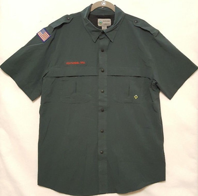 Boy Scouts of America Mens Venturing Short Sleeve Shirt 2XL 3XL 4XL