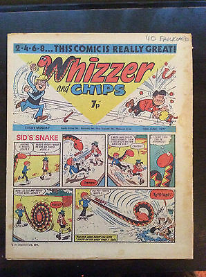 Whizzer And Chips Comic. 18 June 1977. Fn+
