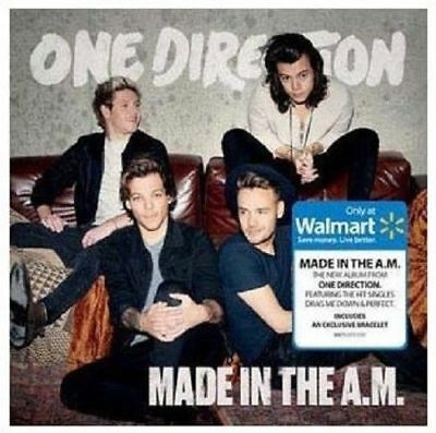 One Direction Made in the A.M. [CD + Exclusive Bonus Bracelet] New & Sealed