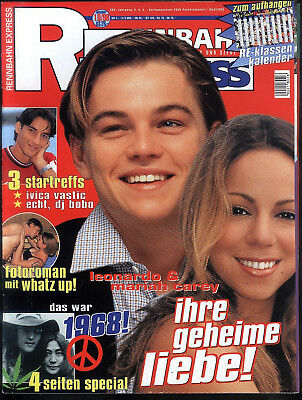 Rennbahn Express Nr.10 von 1998 Leonardo diCaprio, Robbie Williams, Kiss - TOP