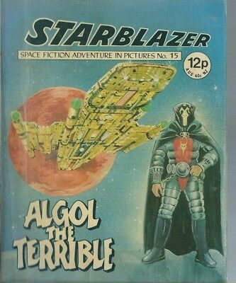 Algol The Terrible,no.15,starblazer Space Fiction Adventure In Pictures,comic