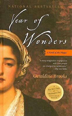 Year of Wonders: A Novel of the Plague by Geraldine Brooks (English) Prebound Bo