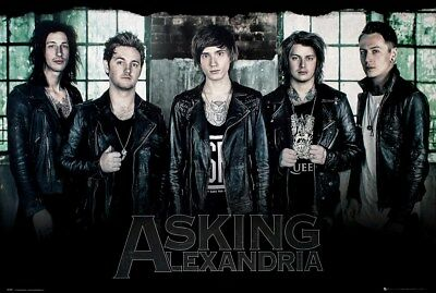 Asking Alexandria Maxi Poster 91,5 x 61 cm Window