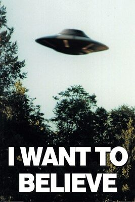 Maxi Poster 61 x 91,5 cm The X-files I Want To Believe