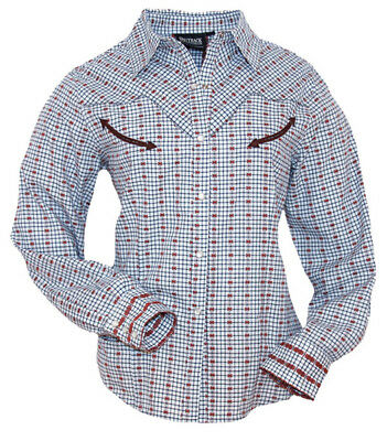 "OUTBACK Show-Shirt ""Nevada"" / Western-Bluse in Gr. S   *** SALE -15% Rabatt ***"