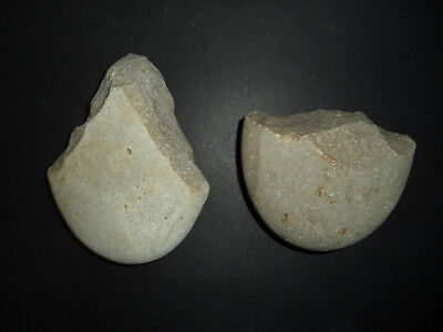 Two Paleolithic tools - axe + chopper from Iberian tribes ref 3.19