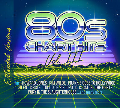 CD 80s Chart Hits Extended Versions Vol. 3 von Various Artists 2CDs