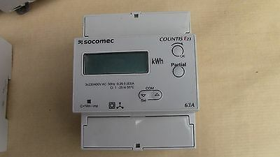 Compteur d'Energie 3x230/400V   63A SOCOMEC COUNTIS E23  ENERGY METER