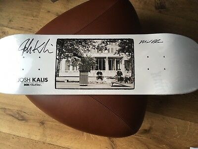 DGK Kalis x Blabac Deck SIGNED Beautiful NEW 400 Worldwide LIMITED