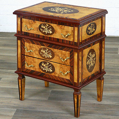 LOUIS-XVI.-STIL KOMMODE 3-schübig, KLASSIZISMUS MUSIKALIEN FRENCH DRAWER COMMODE
