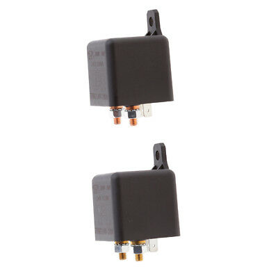 Car Truck Automotive Boat Split Charge DC 24V 120A 240A SPST Relay 4 Pin