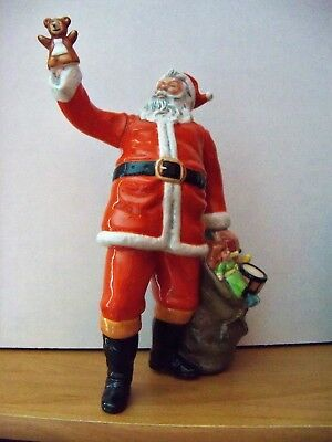 Royal Doulton  SANTA CLAUS  HN2725  Signed By MICHAEL DOULTON  Retired 1993