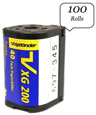 (100 Rolls) Voigtlander APS Film ISO 200 40 Exposures Nexia Advantix Cold Stored