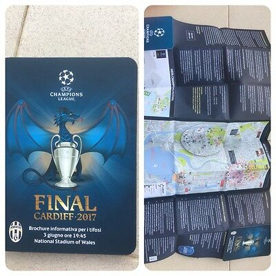 INFORMATIVA MAPPA Finale Champions League Cardiff 2017 Juventus-Real Madrid