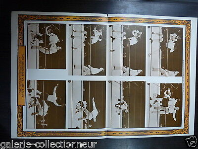 ORIGINAL PIN UP POSTER Boxing Illustrated: August 1964 JOE LOUIS LOST BY KNOCKOU