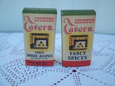 Vintage Collectible Advertising Spice--*Country Tavern Fancy Spices*--New