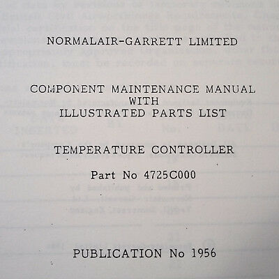 GARRETT GTCP36-100(E) ENGINE Parts Manual - $281 10 | PicClick