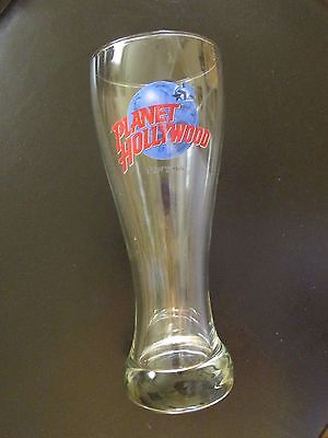 "Planet Hollywood - NEW YORK - 8 1/4"" - Pilsner Glass - NEW"