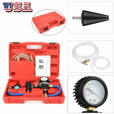 Cooling System Vacuum Purge And Refill Car Van For Auto CAR Radiator Kit US