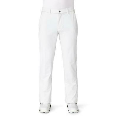 adidas Golf 2019 Ultimate 365 Stretch Twill Taper Fit Trousers (White)