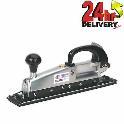 Sealey Aluminium 3KG Air Long Bed Sander 400 x 70mm Twin Piston In-line