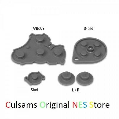 NEW Nintendo GameCube Controller Replacement Button Pads Repair Silicone Kit