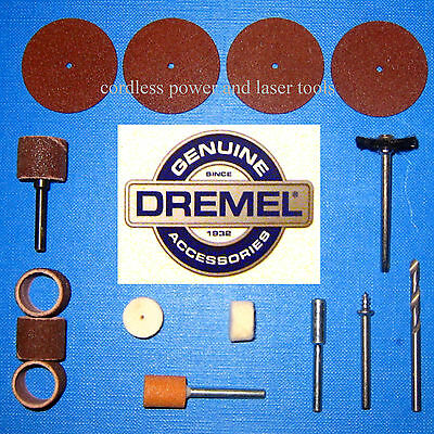 Dremel Genuine 15 Piece Accessory Set 540 407 408 432 932 403 414 401 402 150