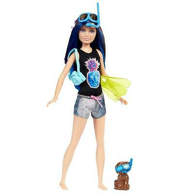 Barbie - Family Doll Skipper with Dog - Magic of Dolphins