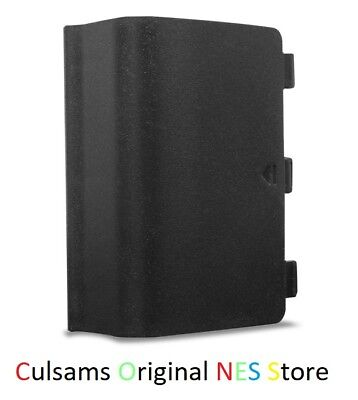 Microsoft Xbox One Controller Battery Cover Door Replacement Part (Black)