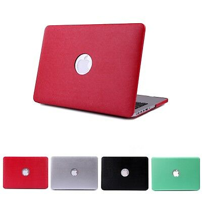 """MacBook Pro 13"""" Case Metallic Coated Soft Shell Case Cover Fits (A1425 / A1502)"""
