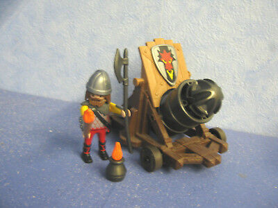Grand Canon Chevalier Knigths Château Figurines Château Fort