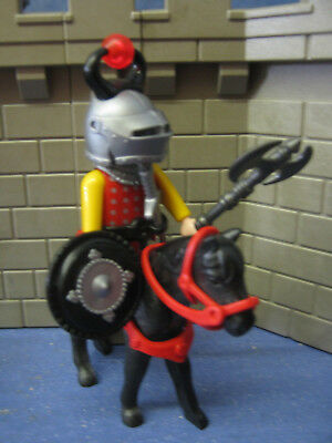 Chevalier Cheval Figurines Château Knighs 6000 4865 Château Fort
