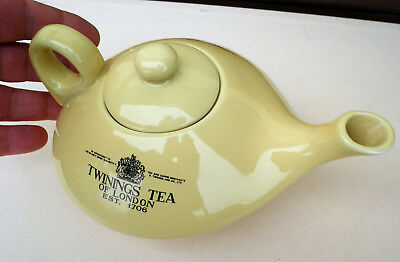 Teiera Twinings Ceramica Acf Vintage Tea Pot Giallo Limone Lemon Yellow Ceramic