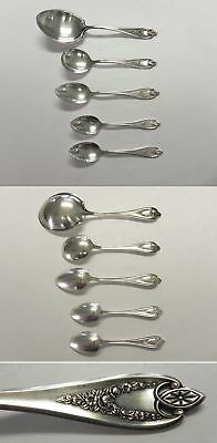 Lot of 5 1847 Rogers Bros 1911 OLD COLONY Silverplate Spoons
